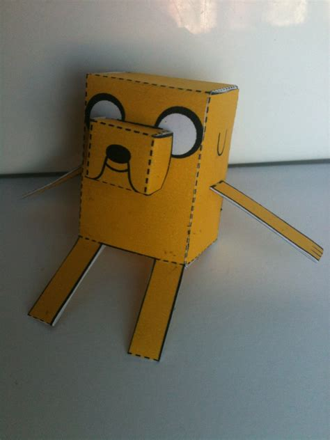 Adventure Time Paper Crafts - adventure time jake the papercraft 2 by