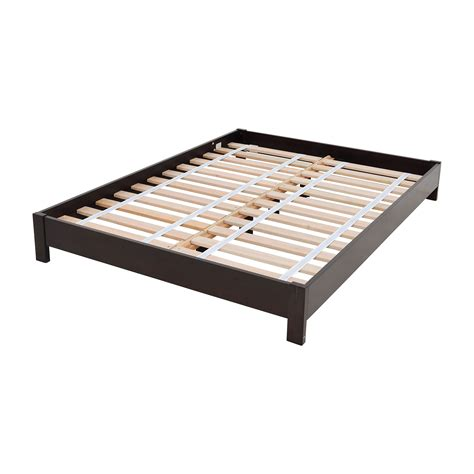 platform bed frames full 44 off west elm west elm simple low full size platform