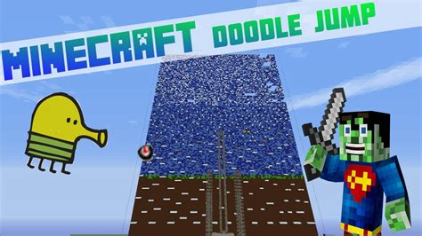 minecraft mini doodle jump let 180 s play minecraft doodle jump hd