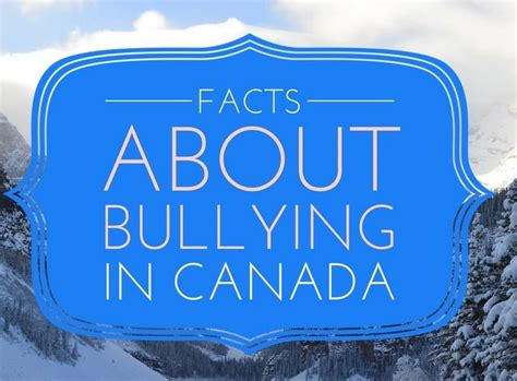 bullying facts  canada    affect  kids