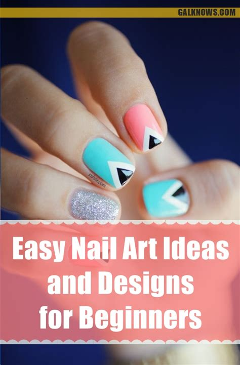 Nail Ideas For Beginners by 101 Easy Nail Ideas And Designs For Beginners