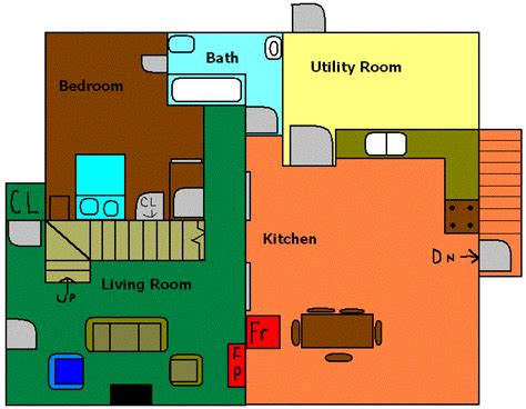 sabrina the teenage witch house floor plan layout for the conner house sitcoms online message