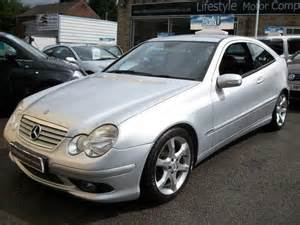 Used Mercedes Diesel For Sale Used Mercedes 2005 Diesel Class C220 Cdi Sport Coupe