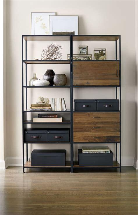 Bookcase With Closed Storage Best 25 Door Shelves Ideas On Door Storage