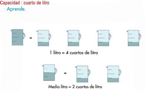 libro litros y litros de el blog de tercero el litro el medio litro y el cuarto de litro