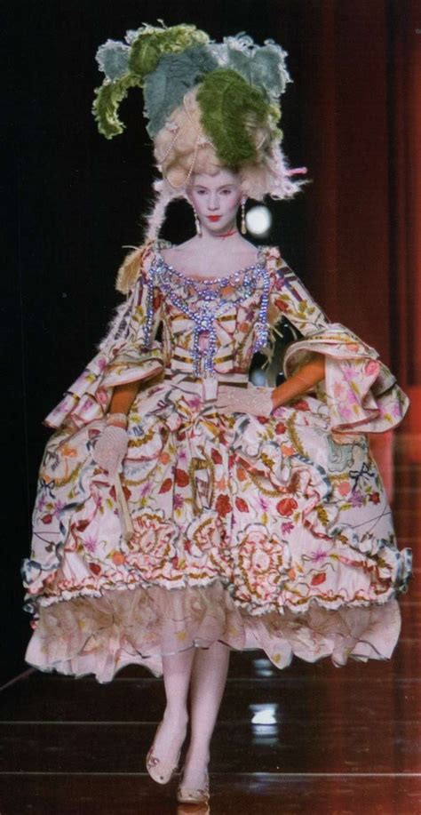 Stylish Costume Of The Day Antoinette by Antoinette Par Galliano