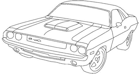 coloring pages of dodge cars classic car coloring pages the old and muscle car