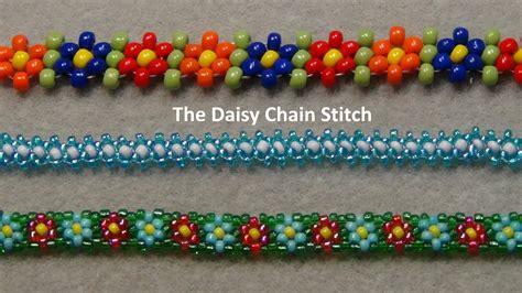 beading stitches beaded chain stitch tutorial viyoutube