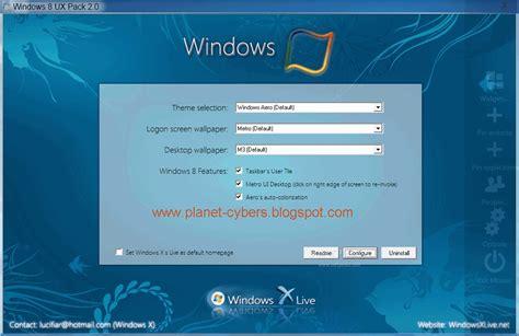 ux themes for windows 8 1 windows 8 ux pack 2 0 final l theme windows 8 buat windows 7