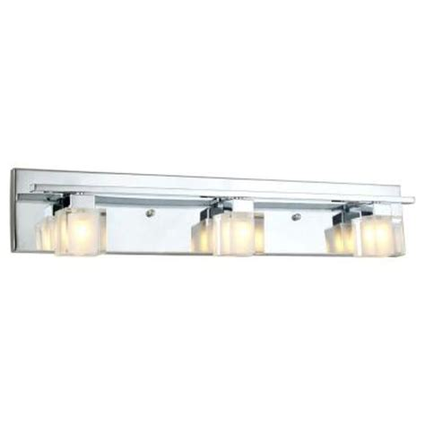 Eglo Tanga 3 Light Chrome Vanity Light 20119a The Home Depot Bathroom Vanity Lights Home Depot