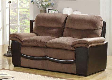 bernard couch bernard 9728 sofa loveseat by homelegance in velvet vinyl