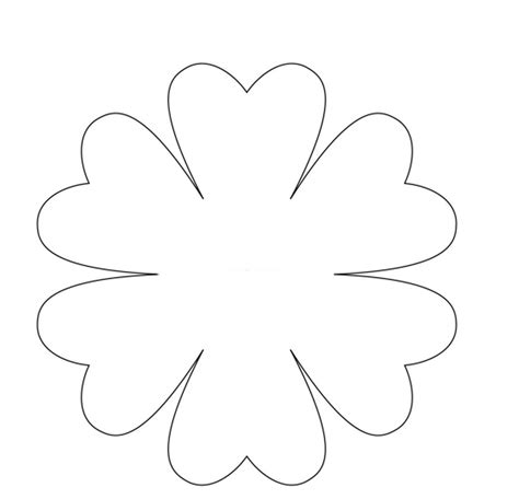 27 Images Of Lily Petal Template Leseriail Com Paper Water Template