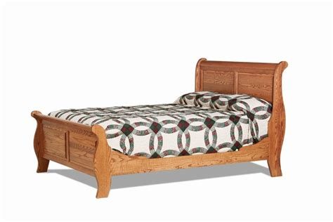 amish headboards amish colonial style sleigh bed