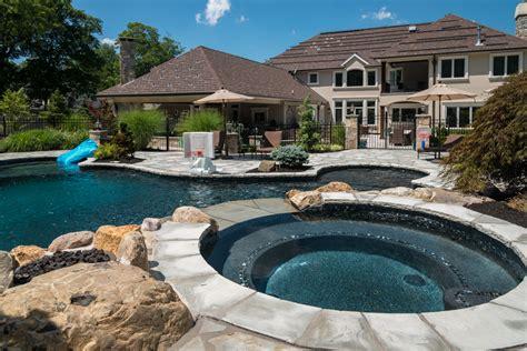 pool design livingston nj k c land design construction