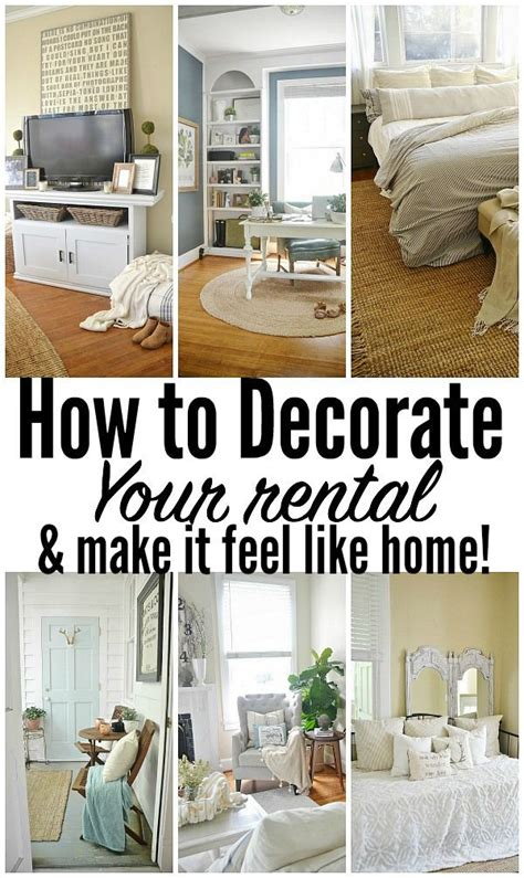 how to decorate a home 25 best ideas about rental decorating on diy