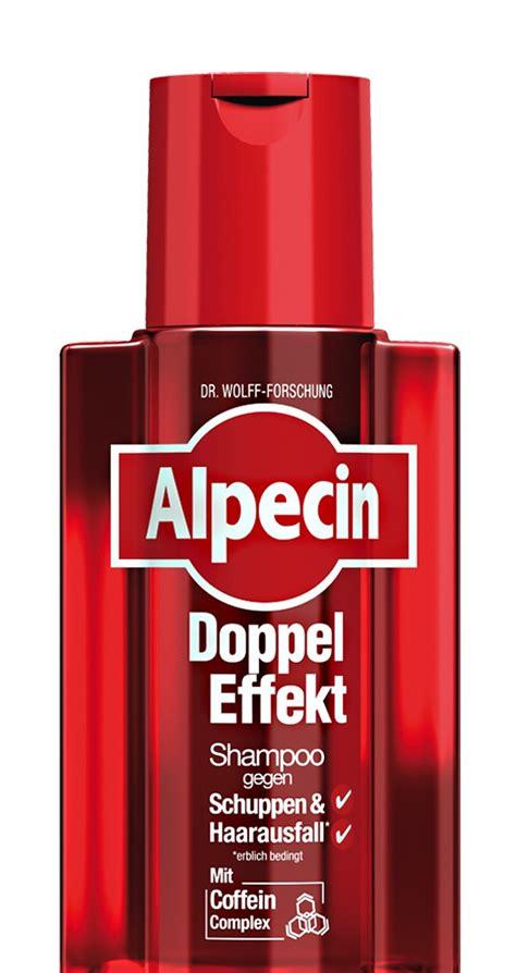 haarausfall durch schuppen kosmetikexpertin de alpecin doppel effekt shoo mit