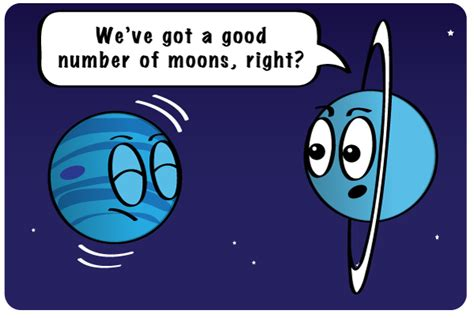 why is there no on saturn how many moons nasa space place