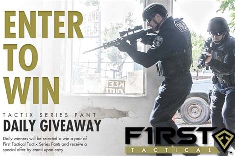 Tactical Giveaway - daily tactix tactical pants giveaway from first tactical