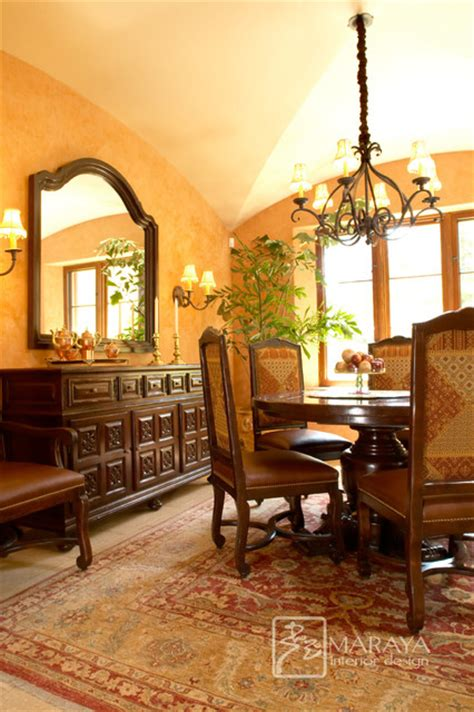 Italian Dining Rooms by Montecito Italian Dining Room Mediterranean Dining