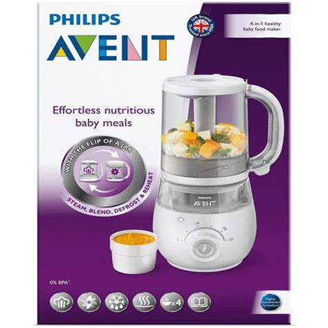 Steamer Blender Avent philips avent baby food maker honeybaby store
