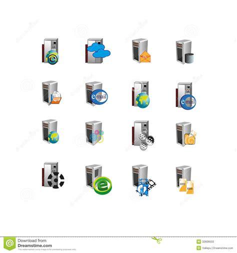 L Web Server by Symbole D Ic 244 Ne De Web Server De Collection Photos Stock