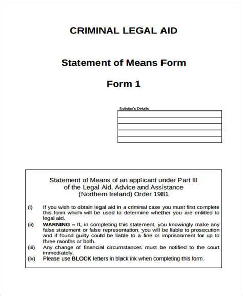 Www Iowacourts Gov Records Statement Form Sle 8 Free Documents In Word Pdf