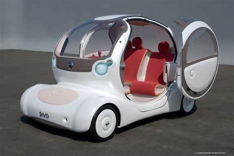 tokyo show preview  nissan pivo  concept   leaf   carscoops