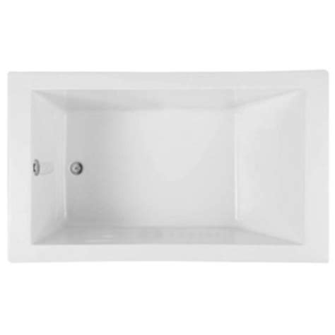 mirabelle bathtub mireds6032wh edenton 60 x 32 soaking tub white at shop ferguson com