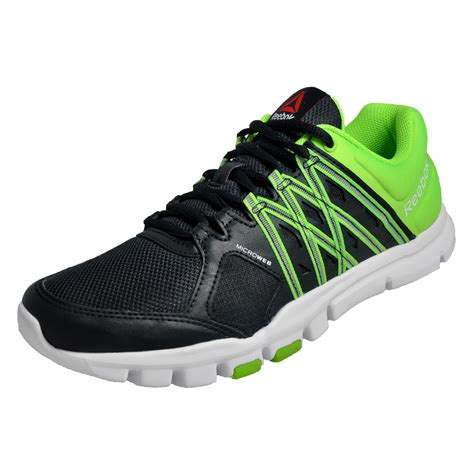 reebok yourflex running shoes reebok yourflex mens running shoes fitness trainers black
