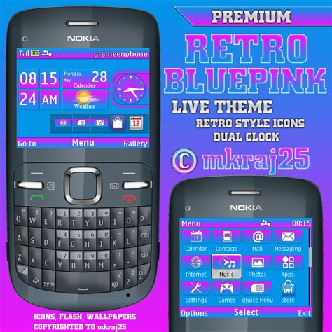 download themes for mobile nokia c3 nokia c3 x2 01 asha 201 themes mkraj25 theme archive