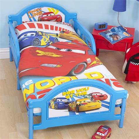 Disney Bedroom Furniture Uk Disney Cars Speed Junior Cot Bed Duvet Cover 100 Official Bedding Ebay