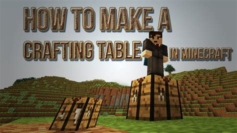 How Do You Make A Desk In Minecraft by How To Make A Crafting Table In Minecraft Crafting