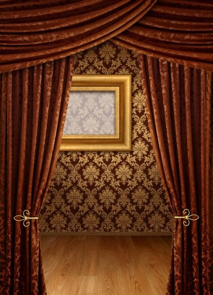 wall curtains photo frame background hd free stock photos download