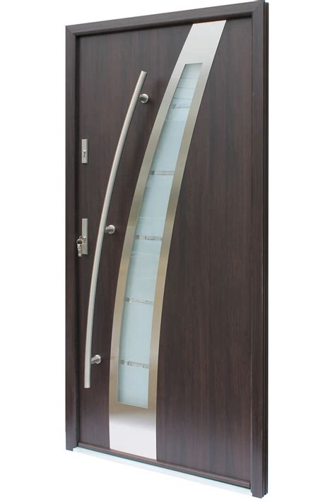 Praga Modern Stainless Steel Exterior Door Stainless Steel Exterior Door