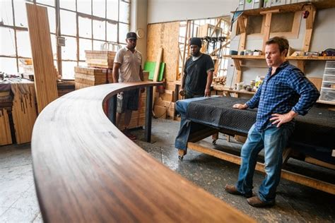 couches in alleys brooklyn firm specializes in creating furniture from