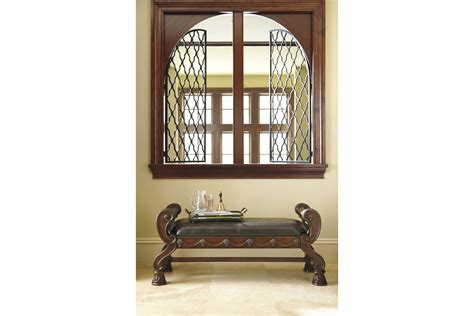 ashley north shore bench north shore large bedroom bench in dark brown by ashley
