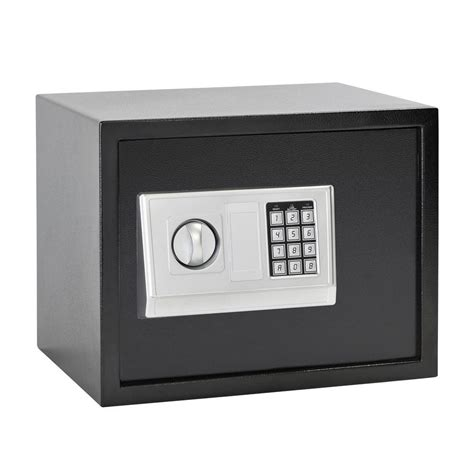 Small Safes At Home Depot Honeywell 0 31 Cu Ft Black Small Steel Security Safe