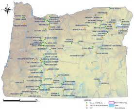 clickable map of oregon snotel nrcs oregon