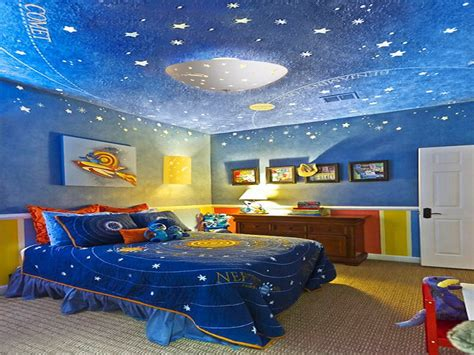 Spaceship Bedroom | children s lighting outer space themed bedrooms space