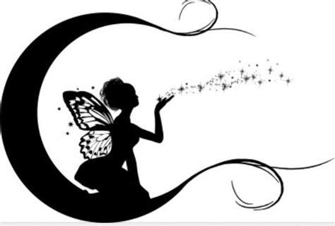 fairy silhouette tattoo designs 34 tattoos stencils