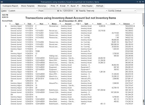 general ledger report sle troubleshoot inventory with quickbooks accountant features