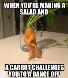 Salad Meme - new carrot salad recipes dancing while you cooking