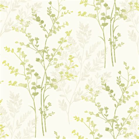 Green Wallpaper Wilko | arthouse imagine fern motif green at wilko com