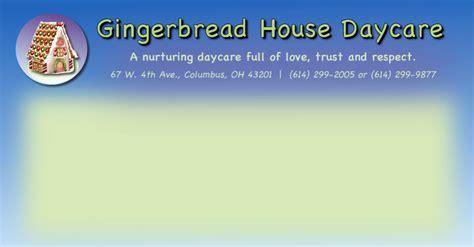 gingerbread house daycare columbus ohio daycare services gingerbread house daycare