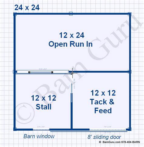 horse stall floor plans 1 stall horse barn plans one stall horse barn design