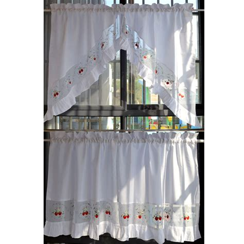 strawberry kitchen curtains promotion shop for promotional