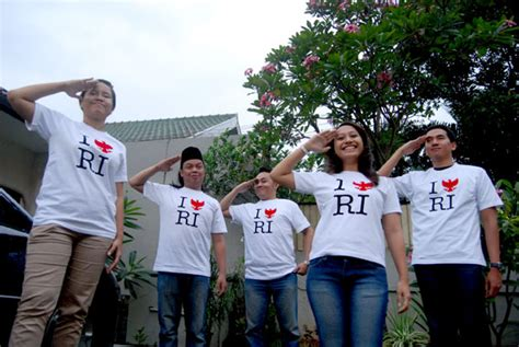 Tshirt Kick Starter Dong Ah 01 t shirt aku cinta ri hiduplah indonesia raya