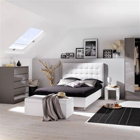 Chambre Gris Et Blanc by La D 233 Co D Une Chambre Grise En 10 Id 233 Es But