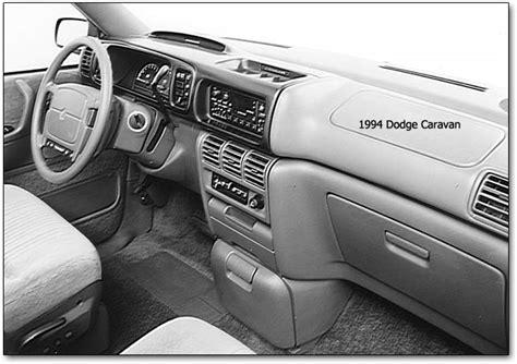 1994 minivans dodge caravan plymouth voyager chrysler