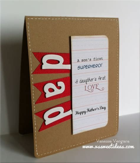 Handmade Fathers Day Card - happy fathers day card crafty crafts for the crafter